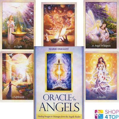 Oracle Of The Angels Deck Cards Mario Duguay Esoteric Fortune Telling Blue Angel