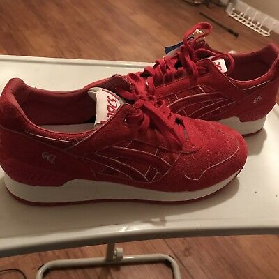 ASICS GEL RESPECTOR SZ 8 4TH OF JULY INDEPENDENCE PACK RED WHITE H6U3L 2525