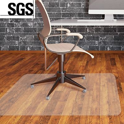 900X1200mm Frosted Clear Non-Slip Office Chair Desk Mat Floor Carpet Proector UK