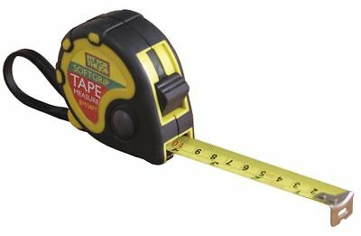 Soft Grip 5m/16ft Or 8m/26ft PowerBlade HI VIZ Magnetic End Tape Measure 5M ONE
