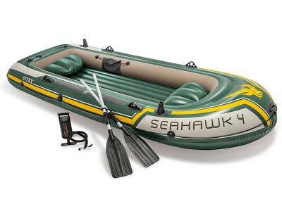 Schlauchboot Seahawk 4 Set 351 x 145 x 48 cm  INTEX 68351
