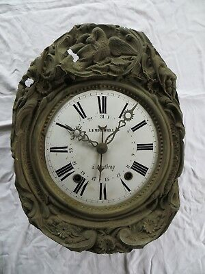 Comtoise / Morbier  Clock For Restoration
