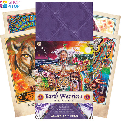 Earth Warriors Oracle Deck Cards Esoteric Fortune Telling Blue Angel New