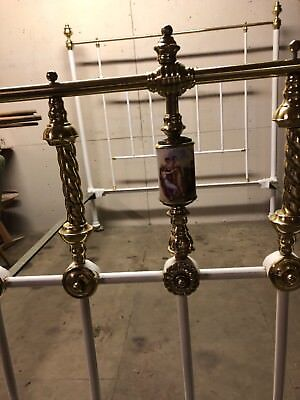 Beautful Iron And Brass Double Bed vintage chic stunning looks