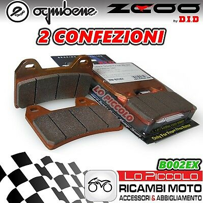 ZCOO DID KIT 4 PASTIGLIE FRENO ANTERIORI KTM Super Adventure 1290 2015 2016 2017