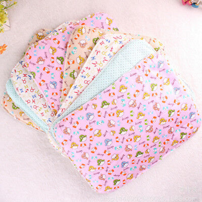 Baby Infant Diaper Nappy Urine Mat Kid Waterproof Bedding Changing Cover Pad  EB