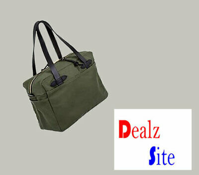 Filson Tote Bag With Zipper 70261 Otter Green Brand New