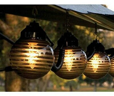 Outdoor string lights patio deck rv large globe set decor awning outdoor string lights patio deck rv large globe set decor awning camper party aloadofball Images