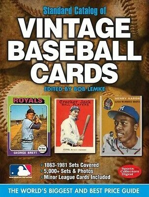Standard Catalog of Vintage Baseball Cards 21st Edition Price Guide 2012