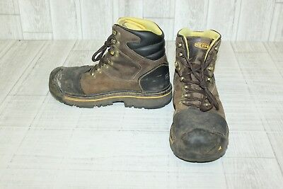Keen Utility Milwaukee Work Boots-Men's size 9.5 D Brown