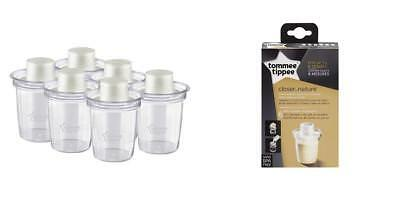 Formula Dispensers 6 Count Tommee Tippee Baby Infant Bottle Feeding Travel Gift