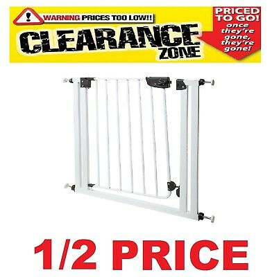 CLEARANCE - FERPLAST - Dog Gate / Fence Safety Barrier / Door Guard 1 ONLY