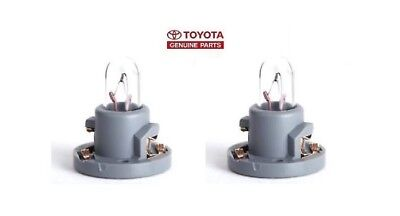 New OEM Pair Toyota 90010-09017 Cooler Control Switch Bulb