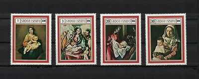 Samoa 1969 Minr 206-209 ** / mnh Weihnachten christmas paintings Spain