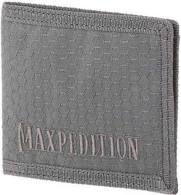 Maxpedition BFWGRY Gray AGR Bi Fold Wallet