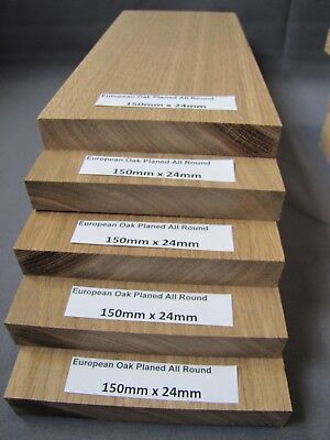 Home and Garden European Oak,Planned All Round 24x150 (lenght from 300 - 2000mm)