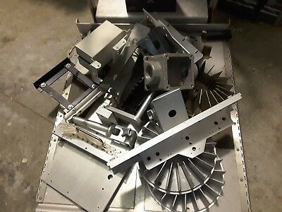 50 Lbs Aluminum Scrap Industrial Extruded High End Pieces Clean New Sale $109