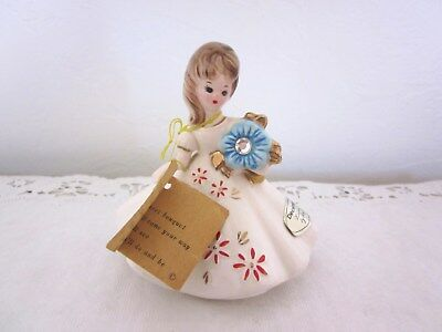 Vintage Josef Originals December Birthday Girl All Tags Zircon