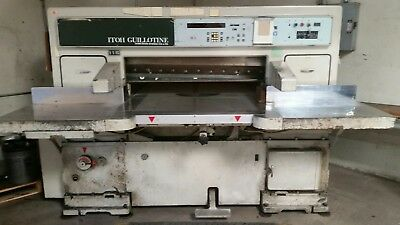Itoh Guillotine Model 115 Paper cutter commercial/industrial