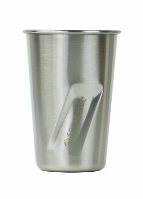 Eco Vessel Stout Stainless Steel pint Glass for Beer, Cocktails & Smoothies B...