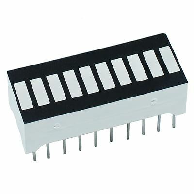Rouge 10-segment Barre LED ARRAY anode