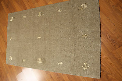 3'x5' Wool Hand knotted handmade Gabbeh design Persian Oriental area rug New