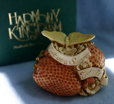 HARMONY KINGDOM - Sweet as a Summer's Kiss - Made in England  - RW97DL/Toad Pin
