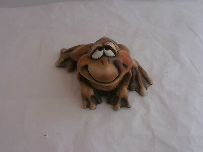 Frog Figurine.  Very Nice Frog-Themed Collectible