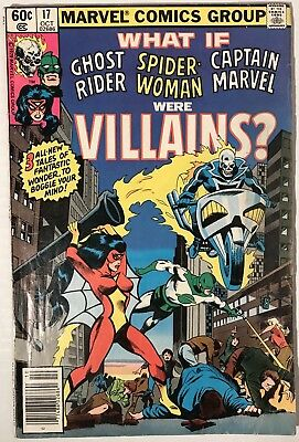 What If...?#17 GHOST RIDER, SPIDER WOMAN and CAPTAIN MARVEL WERE VILLAINS?