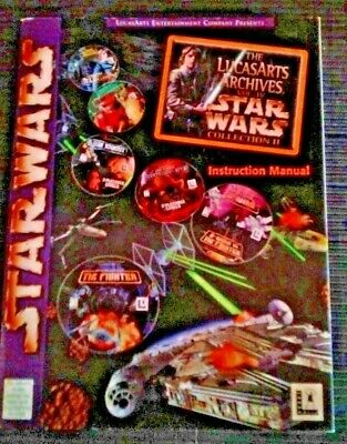 Instruction Manual for The Lucasarts Archives Vol. IV Star Wars Collection II