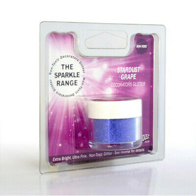 Stardust Grape - Sparkle Range Non Toxic Glitter - Rainbow Dust