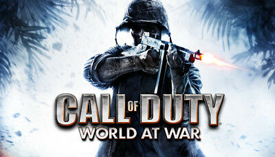 Call of Duty World at War Steam Game (PC)  - Europe Only - (UNCUT)