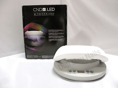 CND LED LIGHT LAMP Professional Shellac Nail Dryer 3C Technology 110-240V