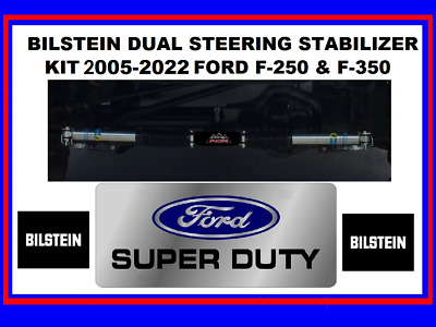 ICON DUAL STEERING Stabilizer Bracket Kit 2005-2016 Ford F250 F350
