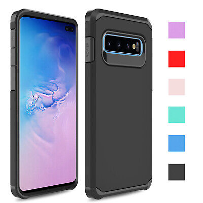 For Samsung Galaxy S10 Plus/S10e/S9/S9 Plus Case Hybrid Armor Hard Phone Cover
