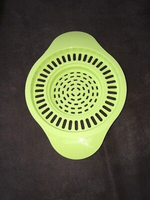 Tupperware NEW Can or Jar strainer in Lime Multi Size