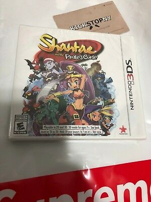 Shantae and the Pirate's Curse - Nintendo 3DS New Sealed Action Adventure Game