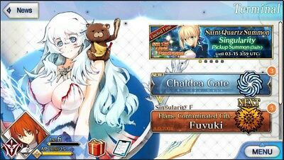 [FGO] fate grand order account NA
