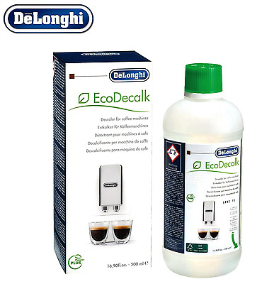Delonghi Coffee Machine Descaler Espresso EcoDecalk Machines Genuine Descaling