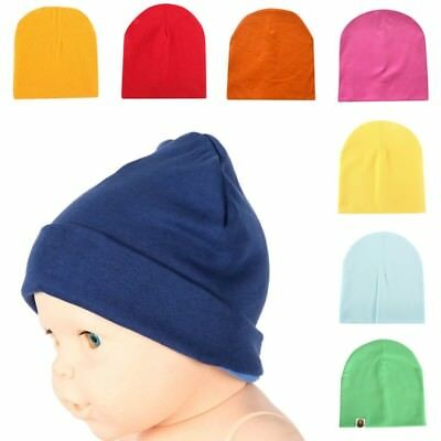 22 Colors Unisex Cotton Hat For Newborn Kid Child Baby Boy/Girl Soft Toddler Cap