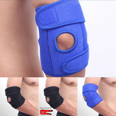 Elbow Brace Support Arm Band Pad Wraparound Compression Tennis Guard Breathable