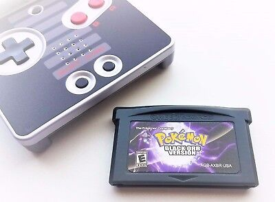 Pokemon Black Orb Version Game Boy Advance GBA Custom Fan Translation USA Seller