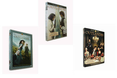 Outlander Season Series 1-3 1,2,3, (DVD, 2017,14-Disc Set) US Seller Bundle NEW