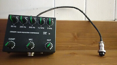 UR6QW 5 band equilizer compressor 8pin mic transceiver