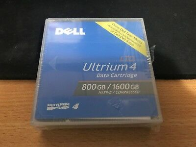 Dell LTO4 Data Tape 800GB Native 1600GB Compressed LTO Ultrium 4 PN 0YN156 YN156