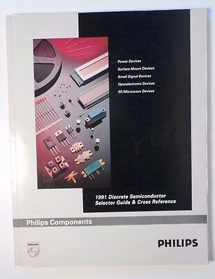 1991 Philips Discrete Semiconductor Selector Guide & Cross Reference