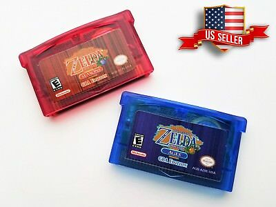 Legend of Zelda - Oracle of Seasons and Ages GBA Edition Gameboy Advance Color