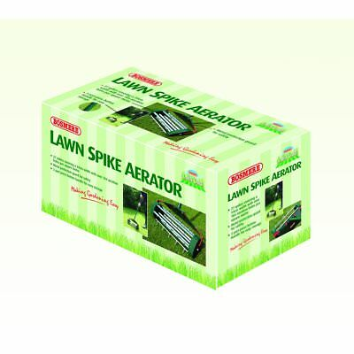 Bosmere Lawn Care Spike Aerator N650 27 spikes 34cm Free Delivery