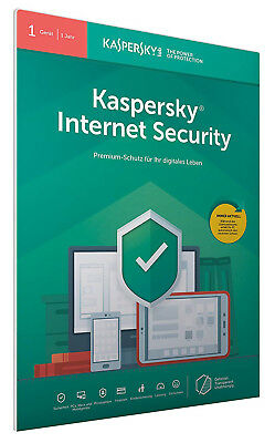 Kaspersky Internet Security 2018 / 1PC / Geräte 1Jahr Vollversion