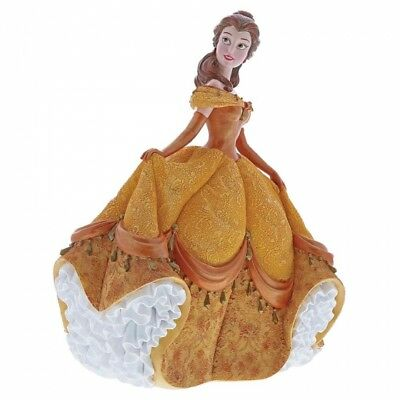 Disney Showcase Haute Couture Belle in Yellow Dress 4060071 New & Boxed